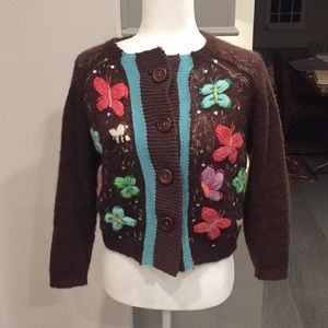 Free People Size M cardigan
